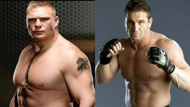 Lesnar vs. Shamrock
