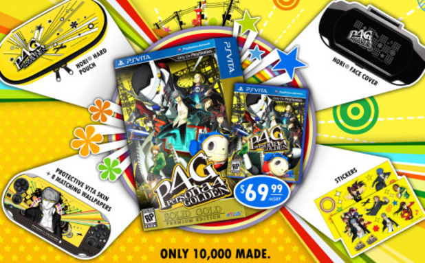 Atlus P4G Solid Gold Premium Edition
