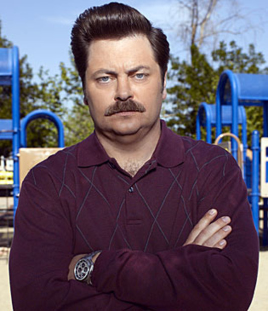 TV & Movie News Screenshot - parks and rec ron swanson
