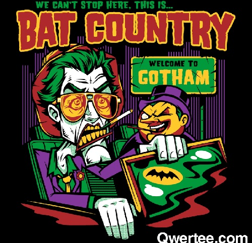 bat country joker shirt