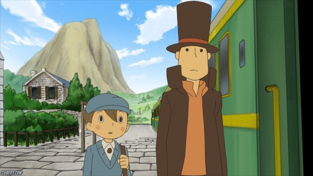 Professor Layton and the Miracle Mask Screenshot - Layton