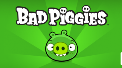 Angry Birds Screenshot - Green Piggies