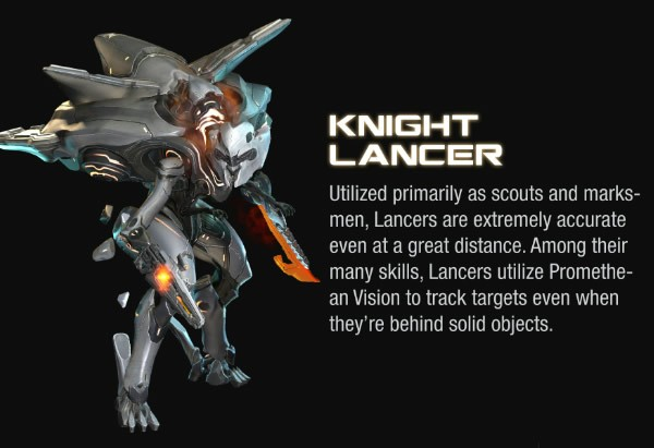Halo 4 Knight Lance