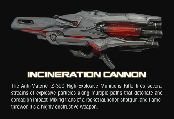 Halo 4 Incineration Cannon