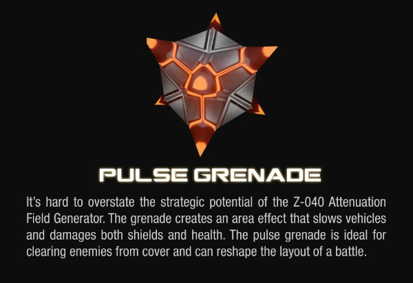 Halo 4 Pulse Grenade