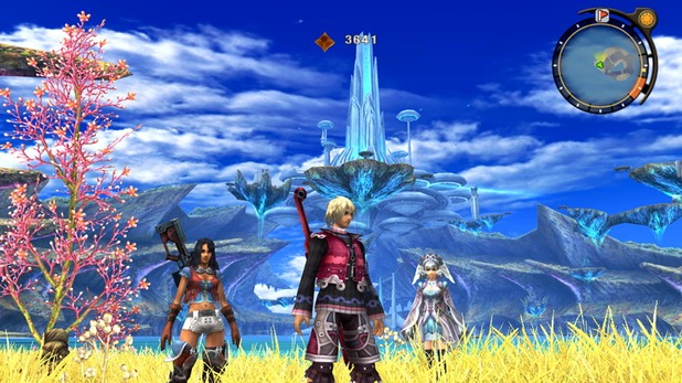 Xenoblade Chronicles Screenshot - Xenoblade Chronicles