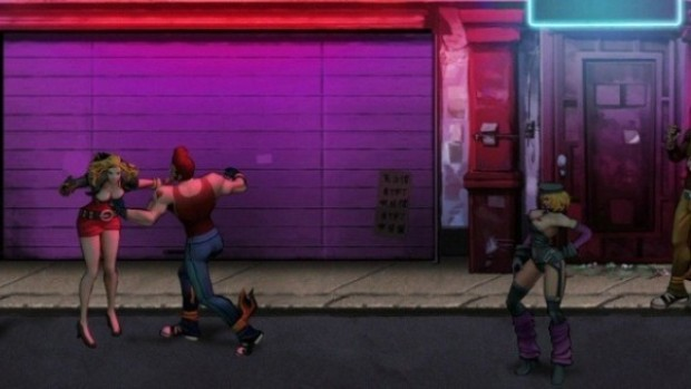 Double Dragon Neon - PS3 - 1