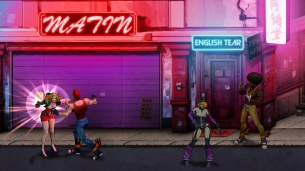 Double Dragon Neon Screenshot - 1119690