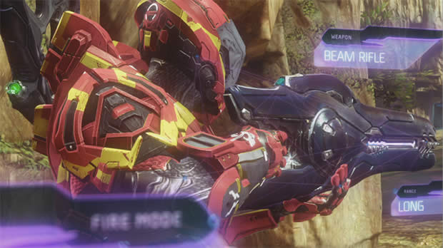halo 4 beam rifle