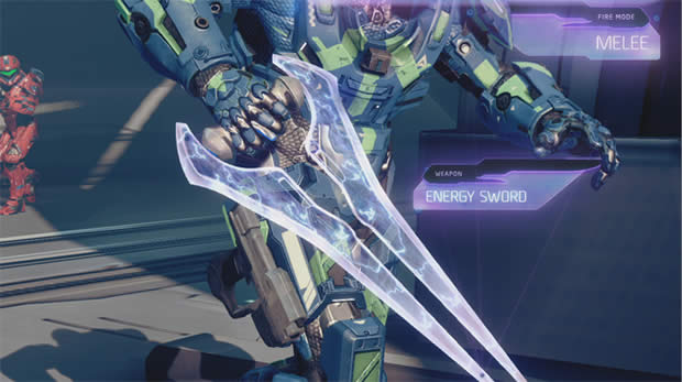 halo 4 energy sword