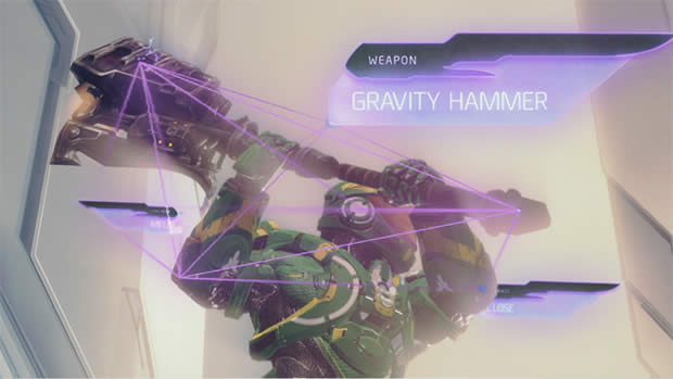 halo 4 gravity hammer