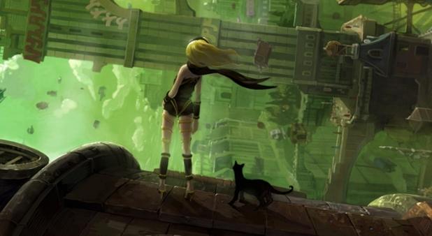 Gravity Rush Screenshot - Gravity Rush