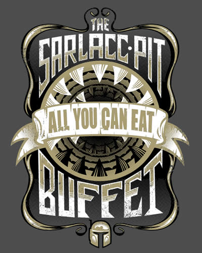 the sarlacc buffet shirtpunch