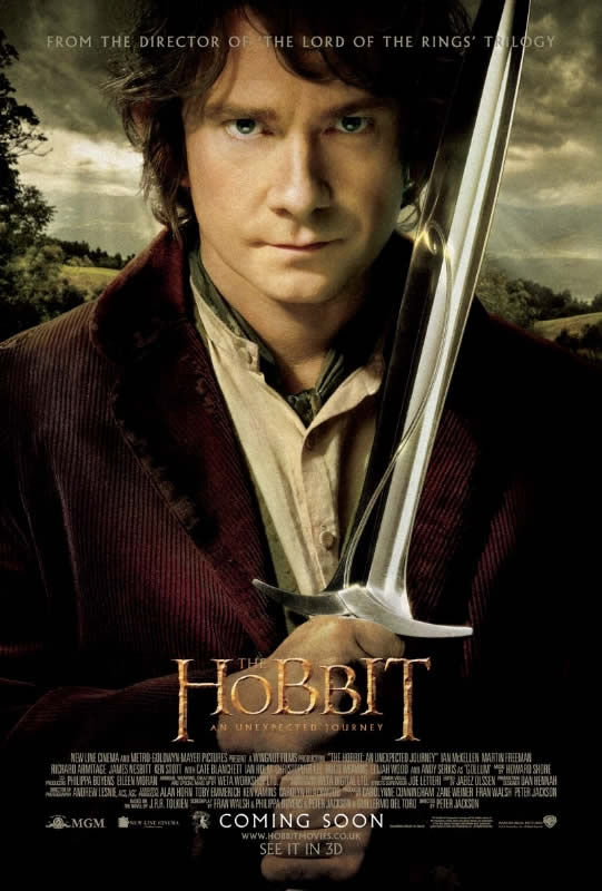 the hobbit: an unexpected journey poster bilbo baggins