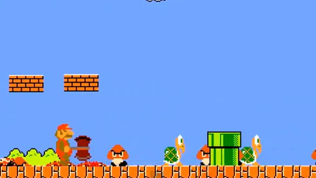Gaming Culture Screenshot - mario goes berserk dorkly