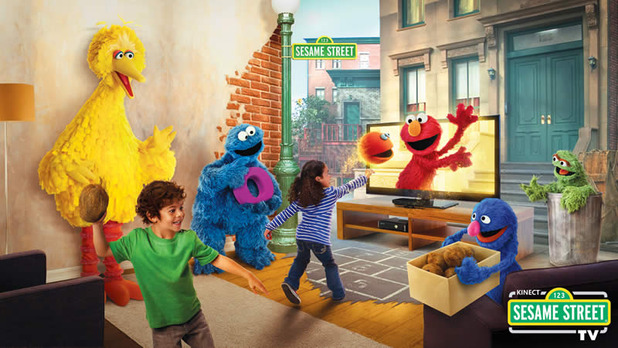 Kinect Sesame Street TV Screenshot - kinect sesame street tv
