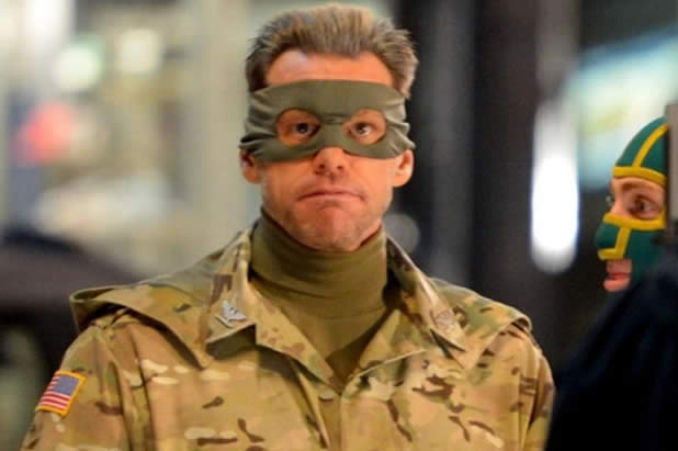 Kick-Ass 2 (2013) Screenshot - kick-ass 2 jim carrey colonel stars
