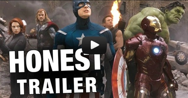 honest trailers the avengers