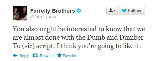 farrelly brothers dumb and dumber to (2) tweet