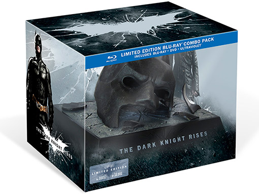the dark knight rises limited edition set