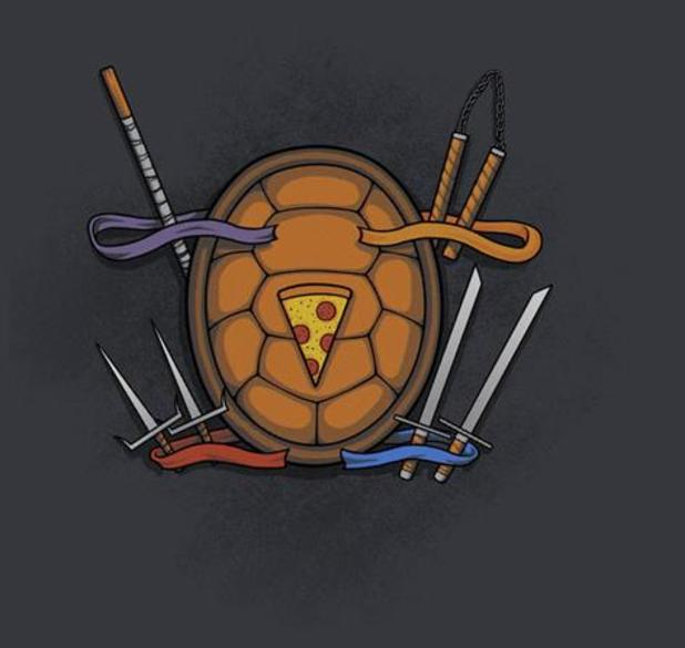 cowabunga teefury shirt