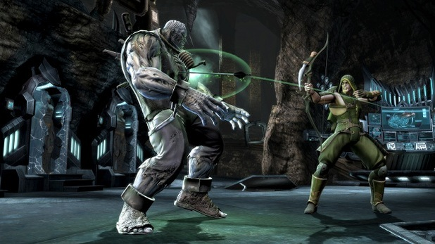 Injustice Green Arrow gameplay