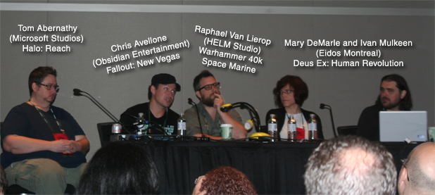 GDC Panel of Writers