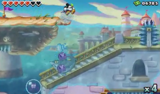 Epic Mickey Power of Illusion - the Little Mermaid - Palace