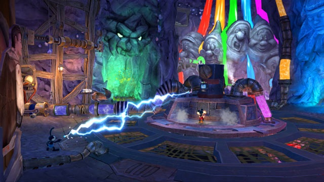 Epic Mickey 2 Rainbow falls