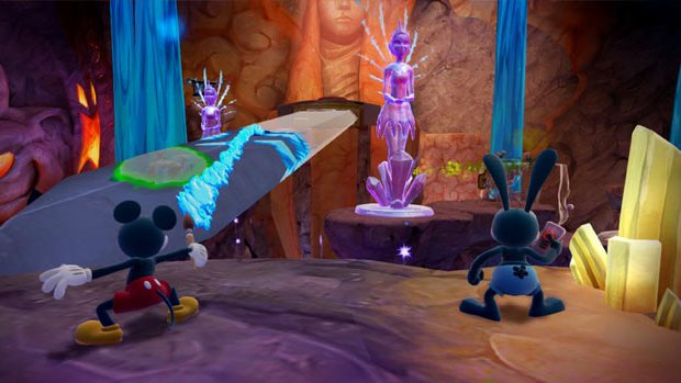 Disney Epic Mickey 2 - Wii U - 1