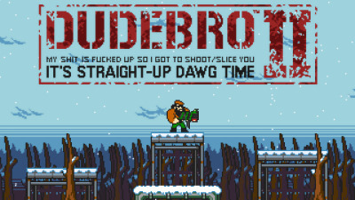 Dudebro II Screenshot - Dudebro 2