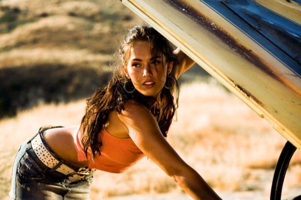 Movie News Screenshot - Megan Fox Transformers