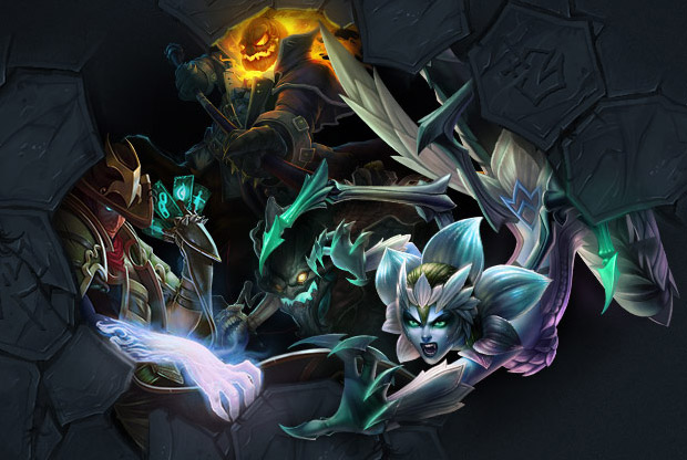 League of Legends - Sinister Skins - Shadow Isles