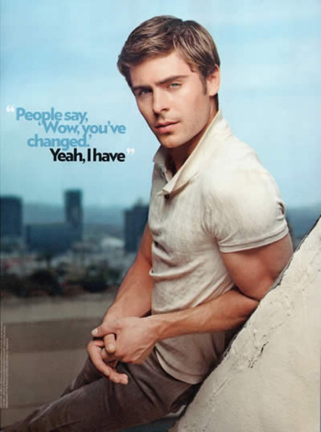 zac efron magazine
