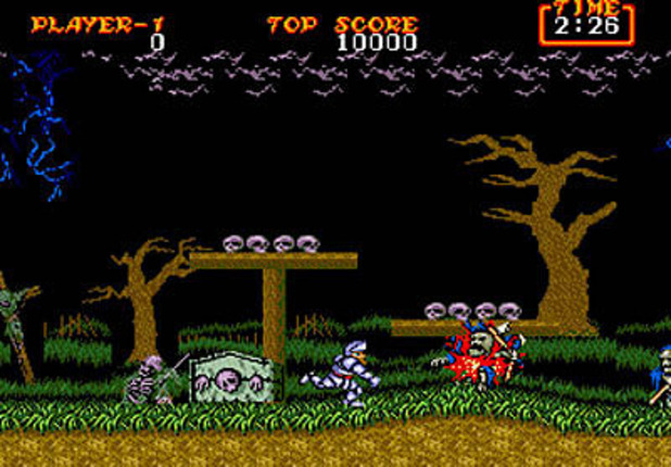 Screenshot - Ghosts 'n Goblins