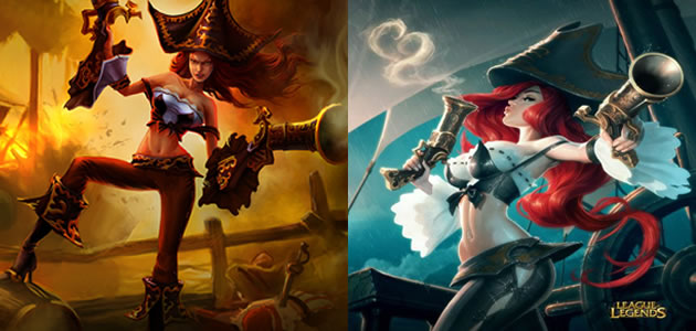 Miss Fortune Splash Art