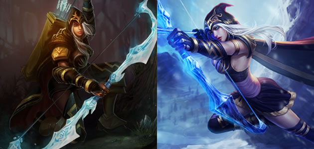 Ashe Splash Remake