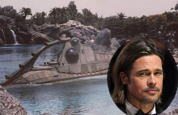 20,000 leagues under the sea, brad pitt