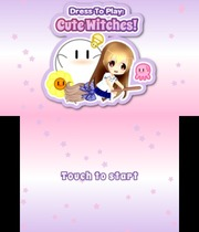 Dress To Play: Cute Witches! Boxart