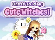 Dress To Play: Cute Witches! Image