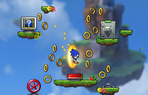 Sonic Jump Screenshot - 1125306