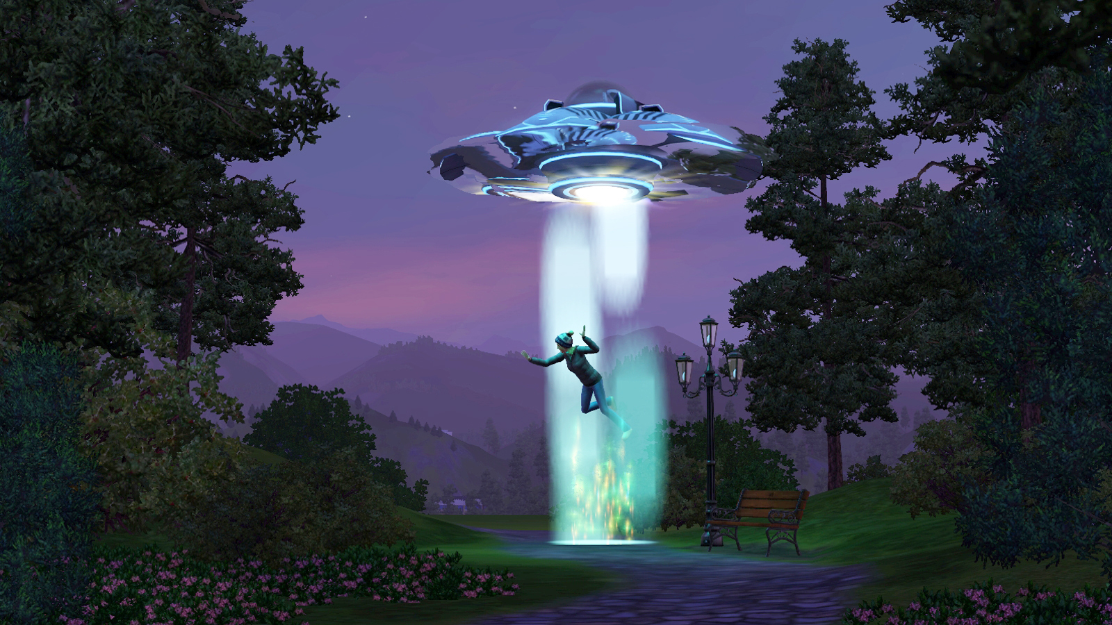 Sims 3 Seasons abduction