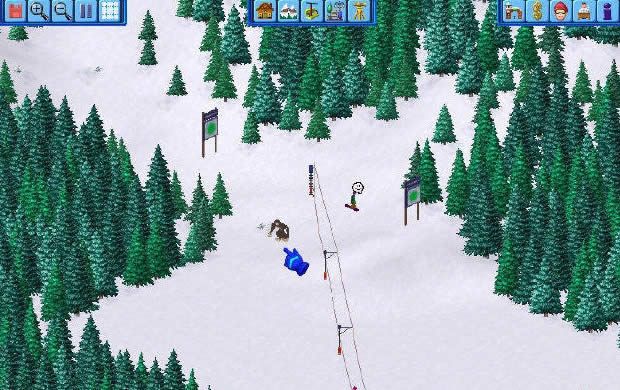 ski resort tycoon bigfoot