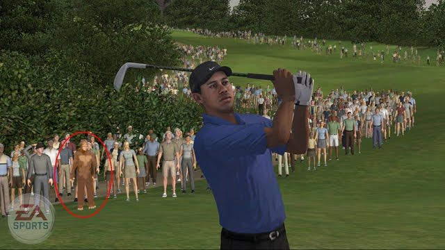 tiger woods pga tour 07 bigfoot