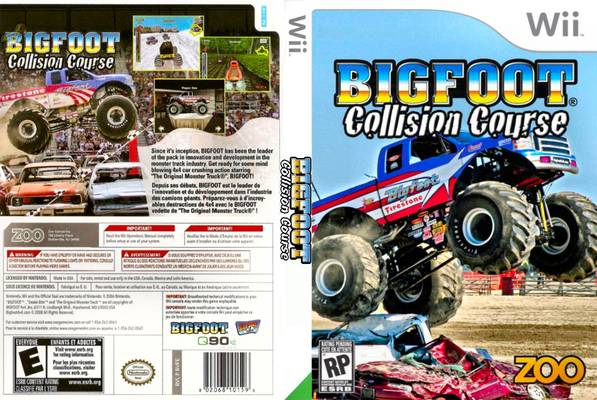 bigfoot collision course game