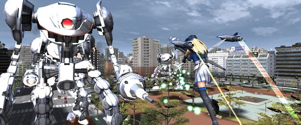 Earth Defense Force 2017 Portable - Feature