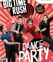 Big Time Rush: Dance Party Boxart