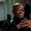 Captain America: The Winter Soldier (2014) Screenshot - samuel l jackson nick fury