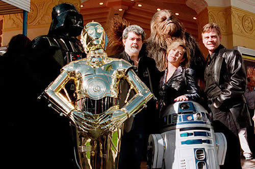 star wars cast george lucas