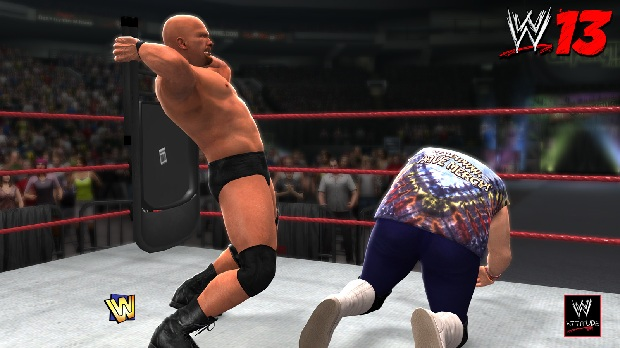 Stone Cold Chair wwe 13